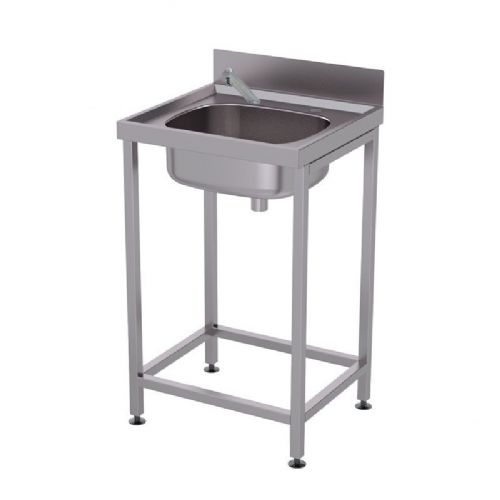 H&L HL4700NT Freestanding Temporary Washbasin with Infrared No-Touch Tap (Battery-Powered)
